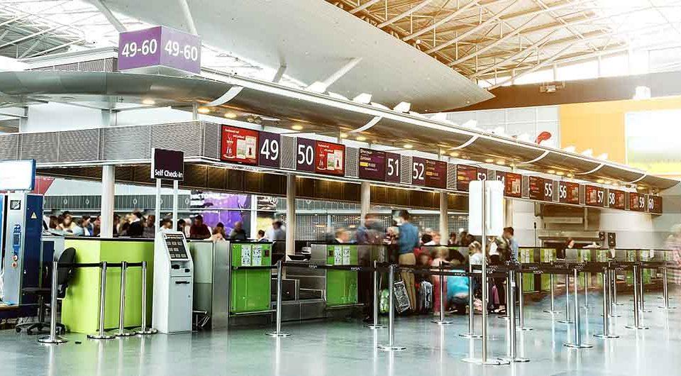 Тестирование на COVID-19 в аэропорту Борисполь